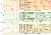 Fruit Standard Itemized Invoice Business Checks
