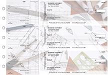 Architect Itemized Counter Signature Business Checks