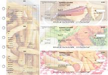 American Cuisine General Itemized Invoice Business Checks