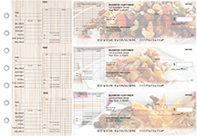 Chinese Cuisine General Itemized Invoice Business Checks