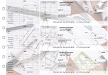 Architect General Itemized Invoice Business Checks