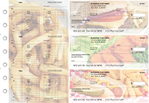 American Cuisine Multi-Purpose Corner Voucher Business Checks