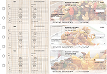 Chinese Cuisine Multi-Purpose Corner Voucher Business Checks