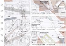 Architect Multi-Purpose Corner Voucher Business Checks