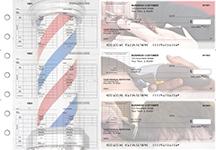 Barber Multi-Purpose Corner Voucher Business Checks