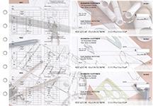 Architect Multi-Purpose Counter Signature Business Checks