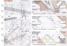 Architect Multi-Purpose Hourly Voucher Business Checks