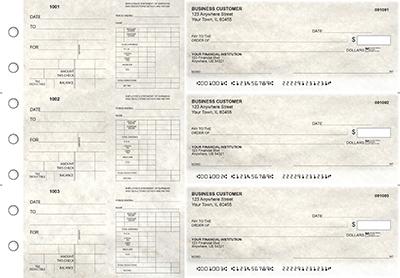 Granite Dual Purpose Voucher Business Checks
