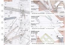 Architect Dual Purpose Voucher Business Checks