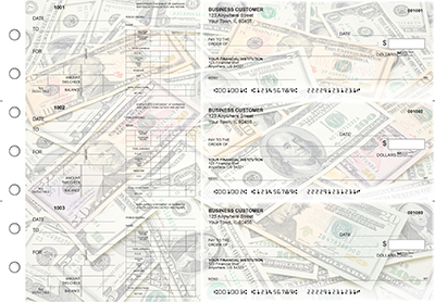 Money Dual Purpose Voucher Business Checks