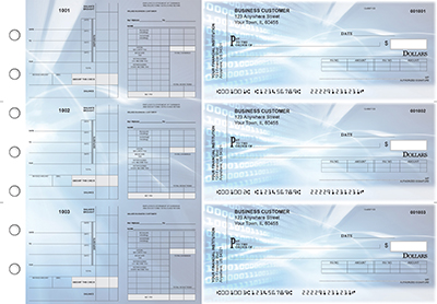 Digital Payroll Invoice Business Checks