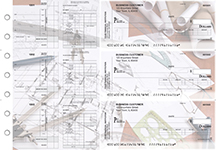 Architect Payroll Invoice Business Checks
