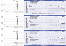 Blue Marble Invoice Business Checks