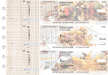 Chinese Cuisine Itemized Invoice Business Checks