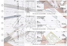Architect Itemized Invoice Business Checks