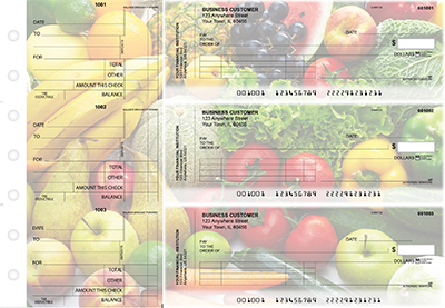 Fresh Produce Standard Invoice Business Checks