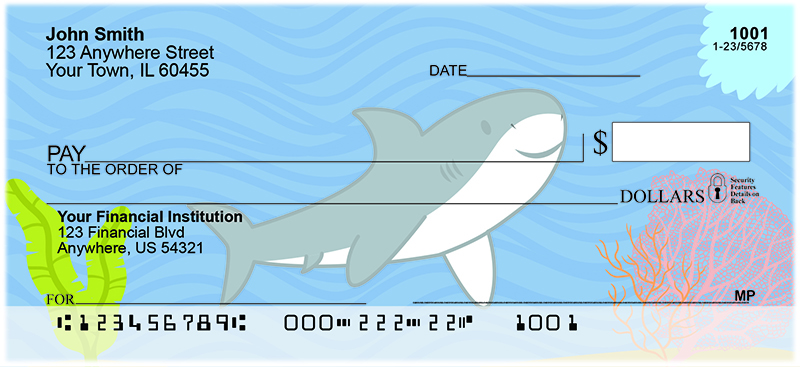 Happy Shark Personal Checks