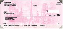Bonjour Paris Personal Checks