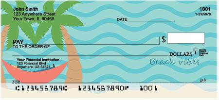 Summer Vibes Personal Checks
