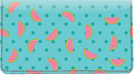 Fruity Patterns Leather Cover