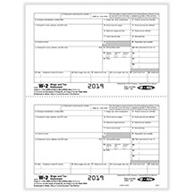 W-2 Employee State/City/Local Copy 2, 2-UP