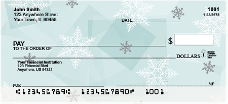 Winter Wonder Personal Checks