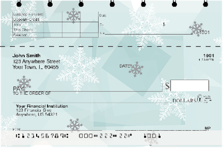 Winter Wonder Top Stub Checks