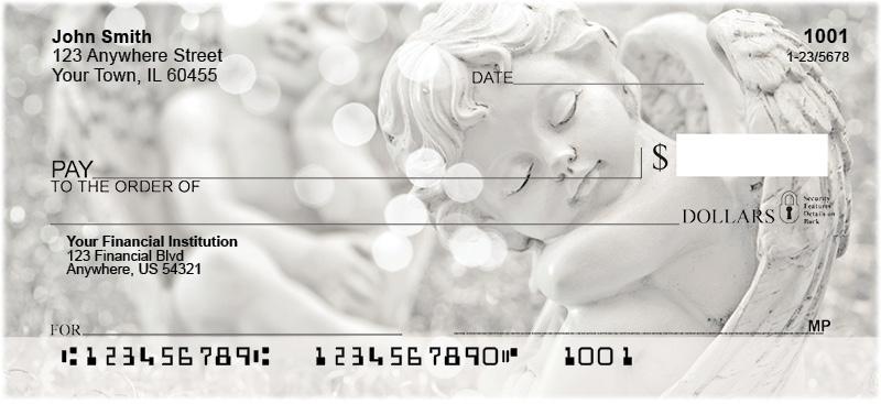 Chubby Cherub Personal Checks