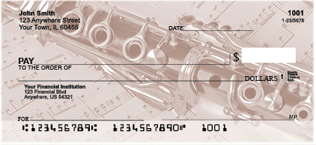 Harmonious Music Personal Checks