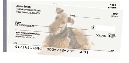 Airedale Terrier Side Tear Checks