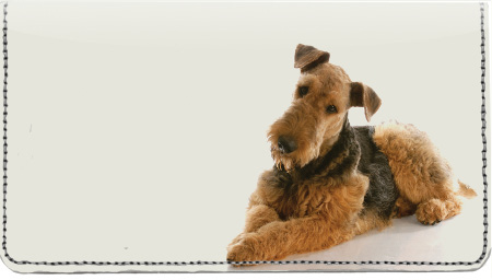 Airedale Terrier Leather Cover