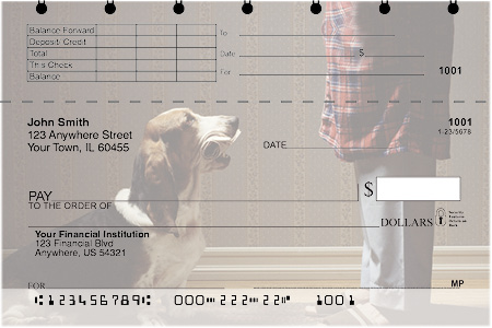 Basset Hound Top Stub Checks