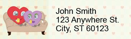 Feelin' the Love Address Labels