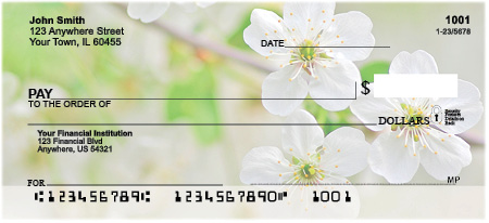 In Full Bloom Personal Checks
