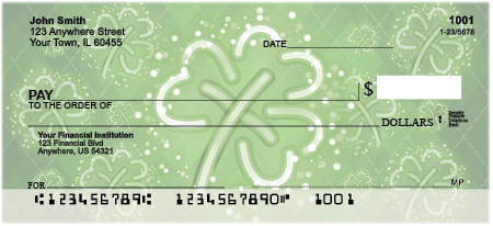St. Patrick's Day Personal Checks