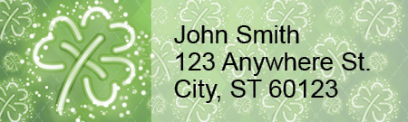 St. Patrick's Day Address Labels