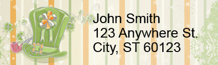 Celebrate St. Patrick Address Labels