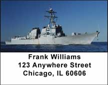 In The Navy Address Labels