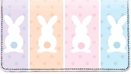 Bunny Buns Leather Cover