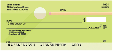 Pocket Billiards Personal Checks