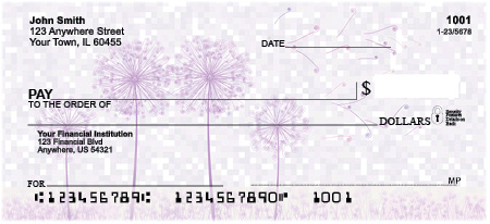 Blow Me Away Personal Checks