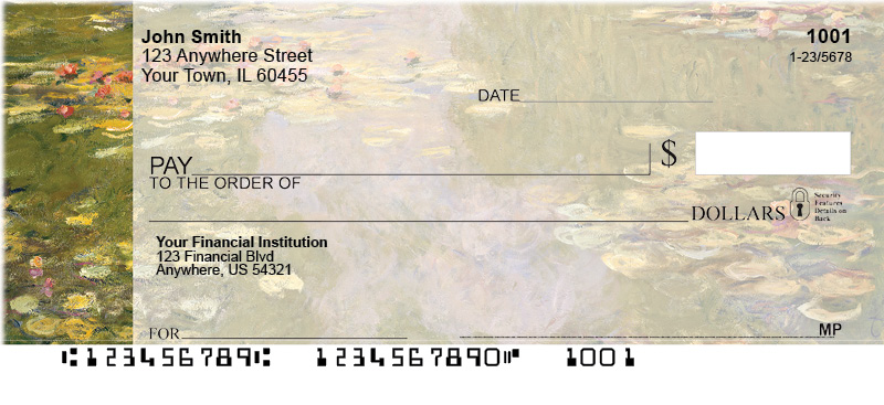 Monet Personal Checks