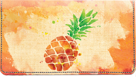 Watercolor Fruit Leather Cover