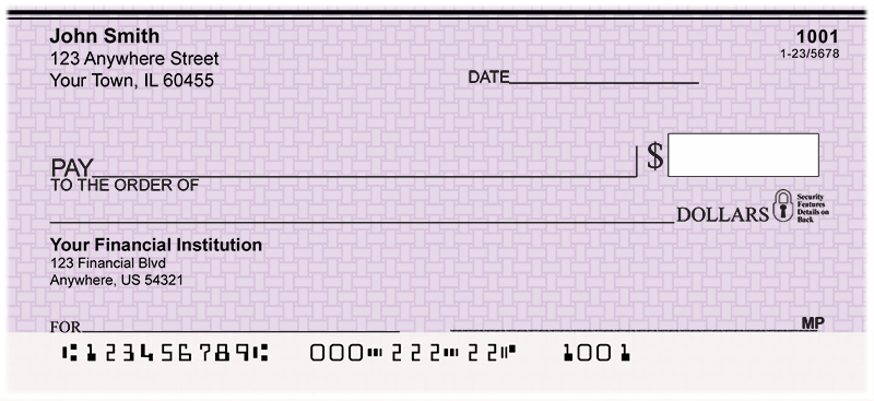 Purple Safety Personal Checks