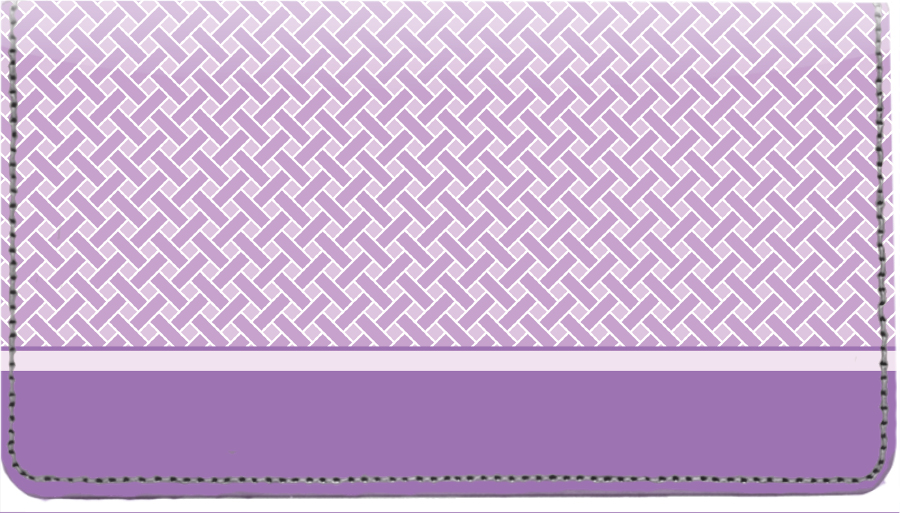 Purple Safety Leather Cover