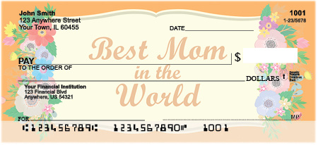 Mother's Day Personal Checks