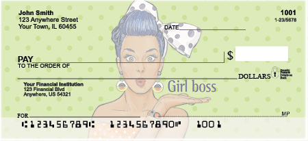 Girl Boss Personal Checks