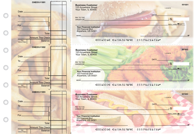 American Cuisine Standard Business Checks