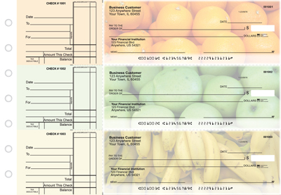 Fruit Standard Business Checks