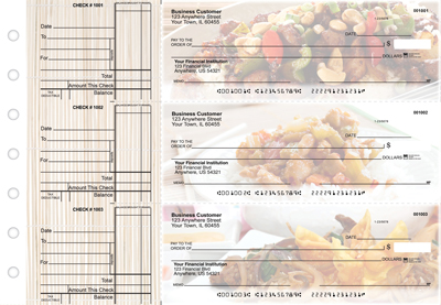 Chinese Cuisine Standard Business Checks